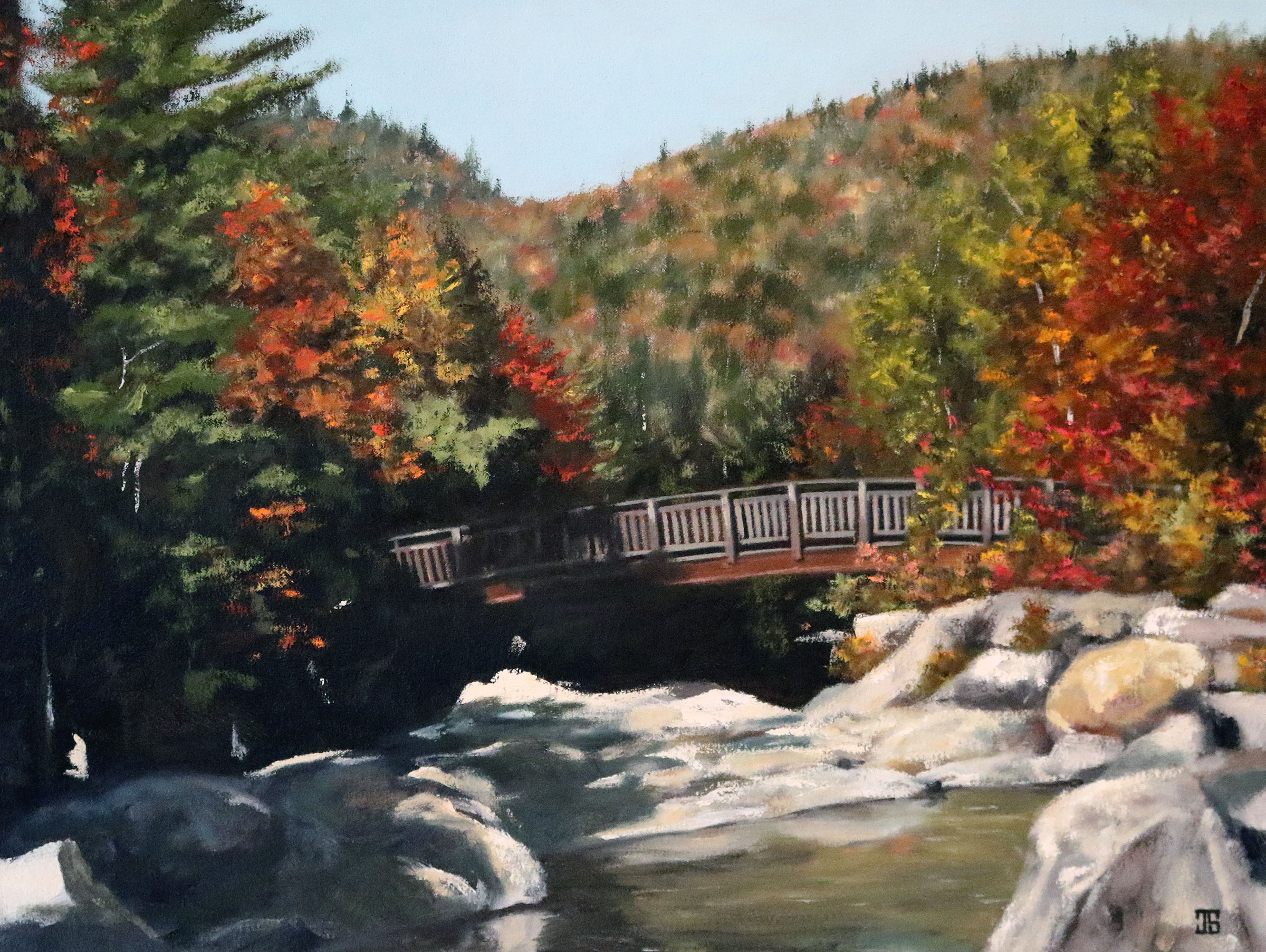 Rocky Gorge, White Mountain National Forest, New Hampshire by Jeffrey Dale Starr