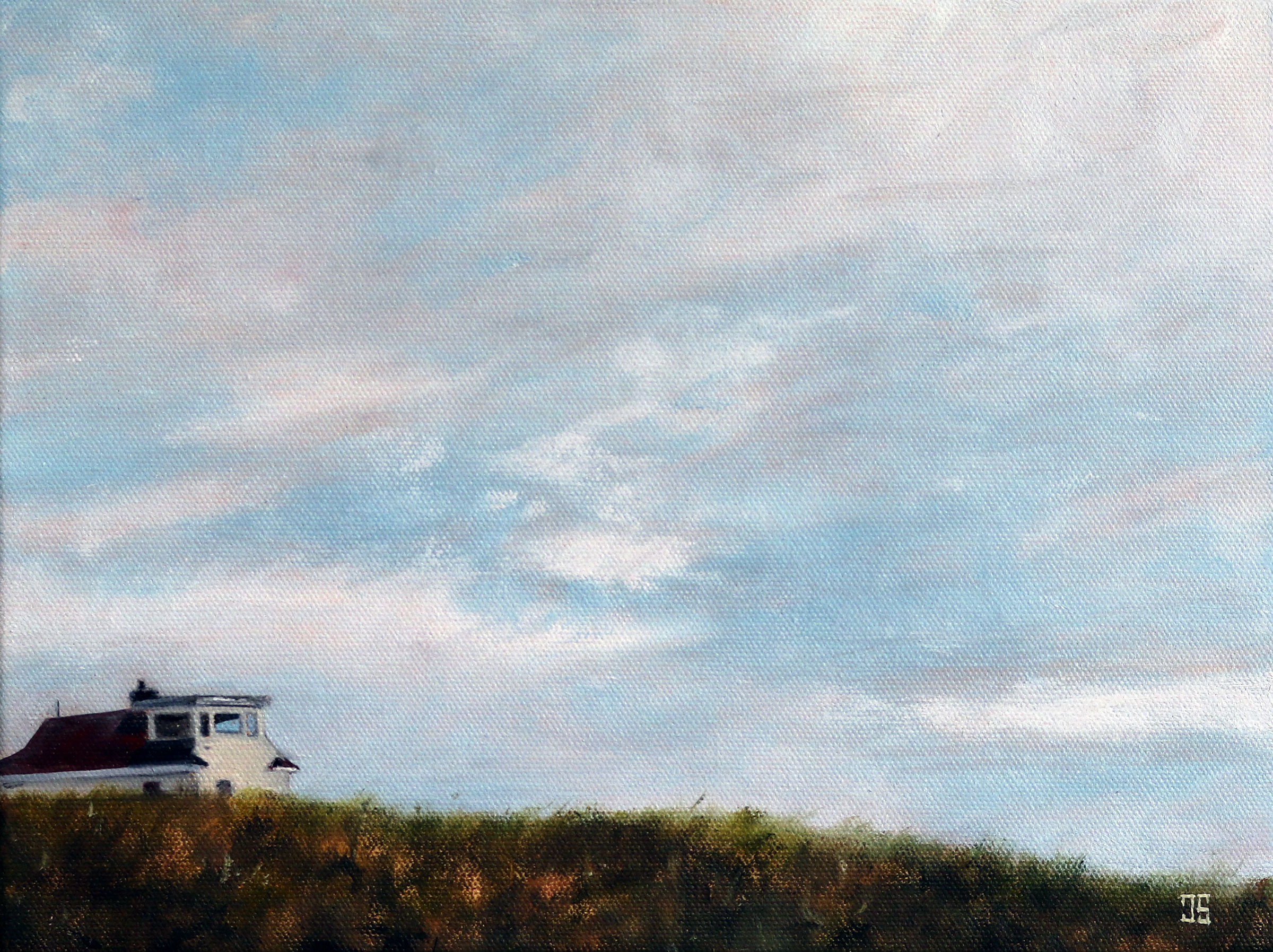 "Oil painting ""Race Point in May"" by Jeffrey Dale Starr"